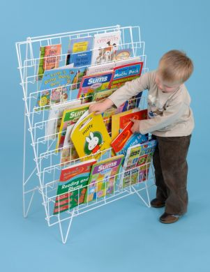 Single Sided Bookrack