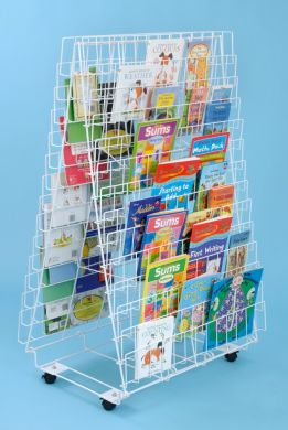 Double Sided Bookrack