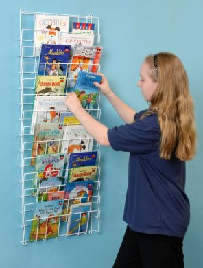 Vertical Wall Bookrack