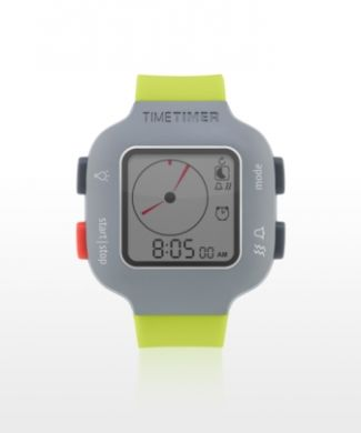 Time Timer Watch Plus- Youth LIME